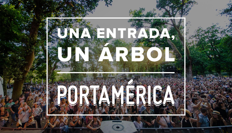 Una entrada para PortAmérica, un árbol