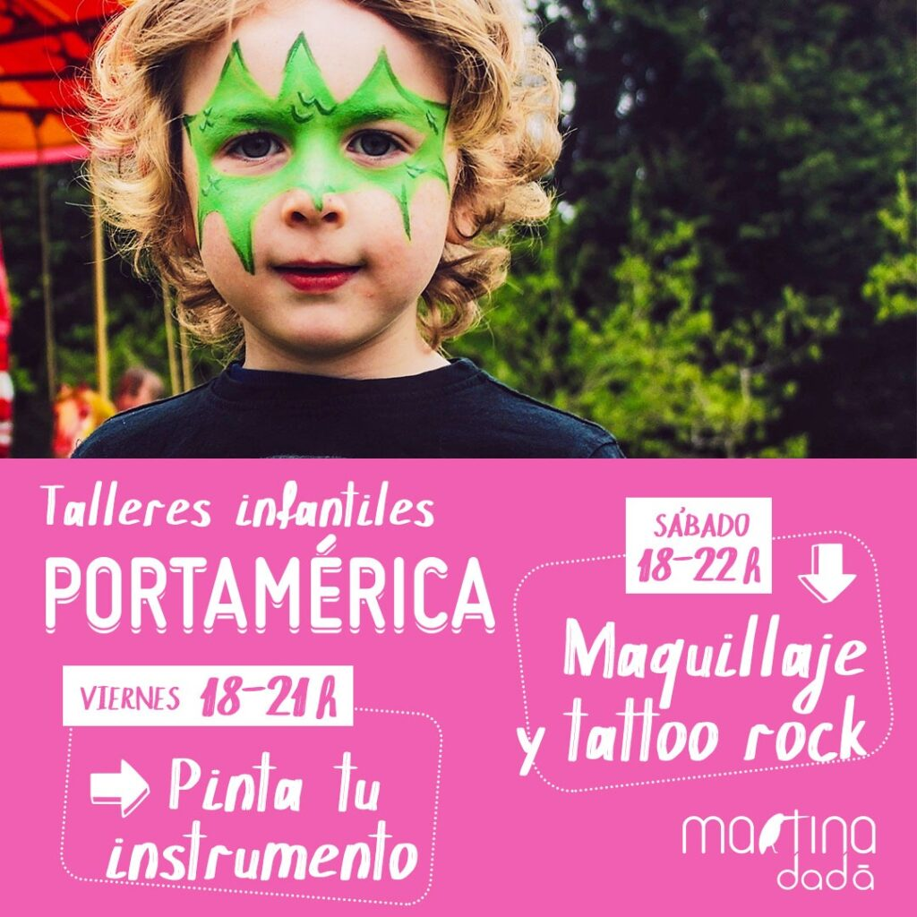 Talleres infantiles PortAmérica