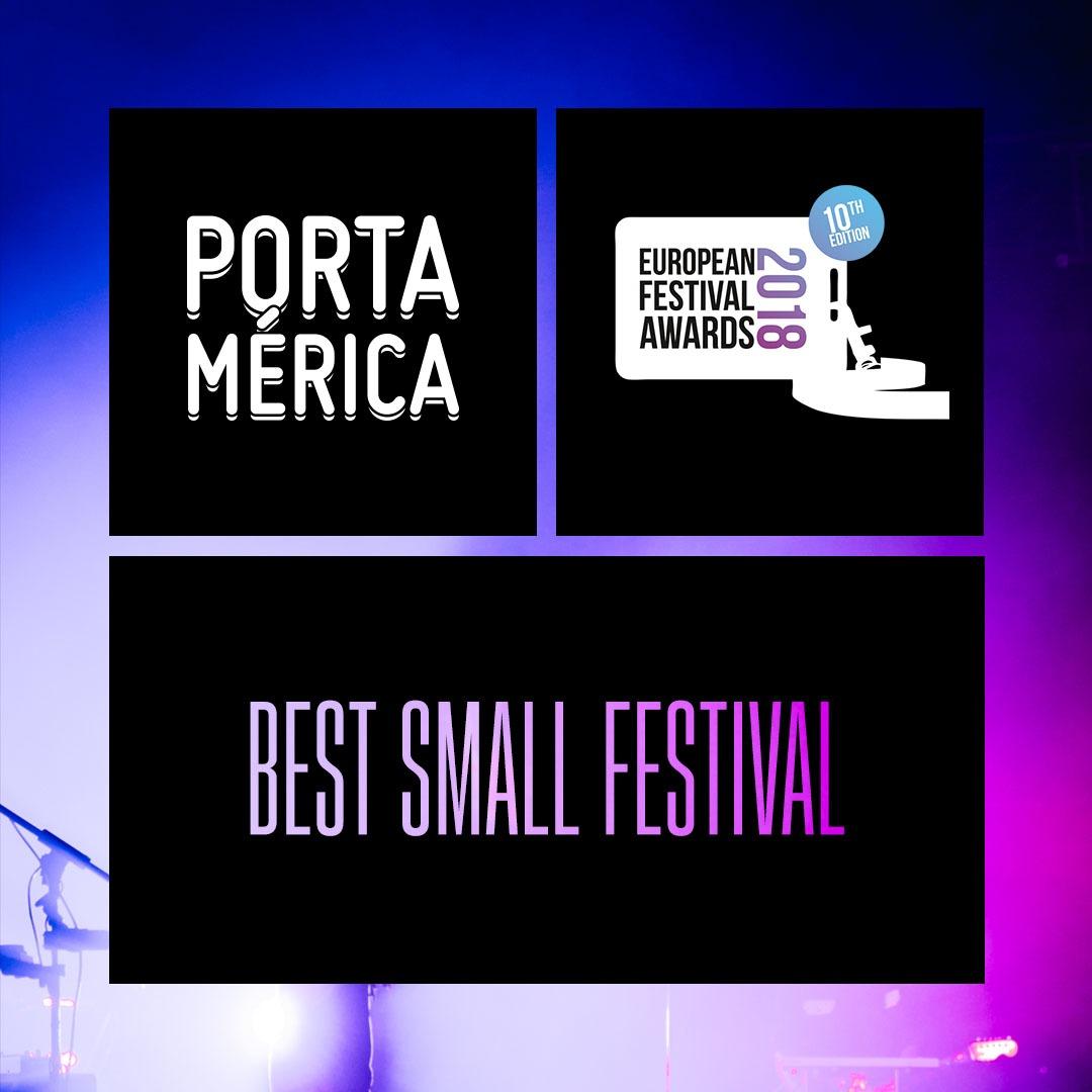 ¡PortAmérica en los European Festival Awards 2018! (Abierta votación)