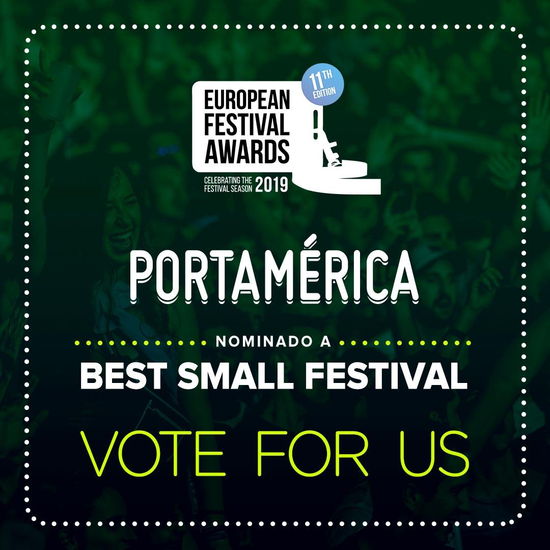 PortAmérica nominado en los European Festival Awards