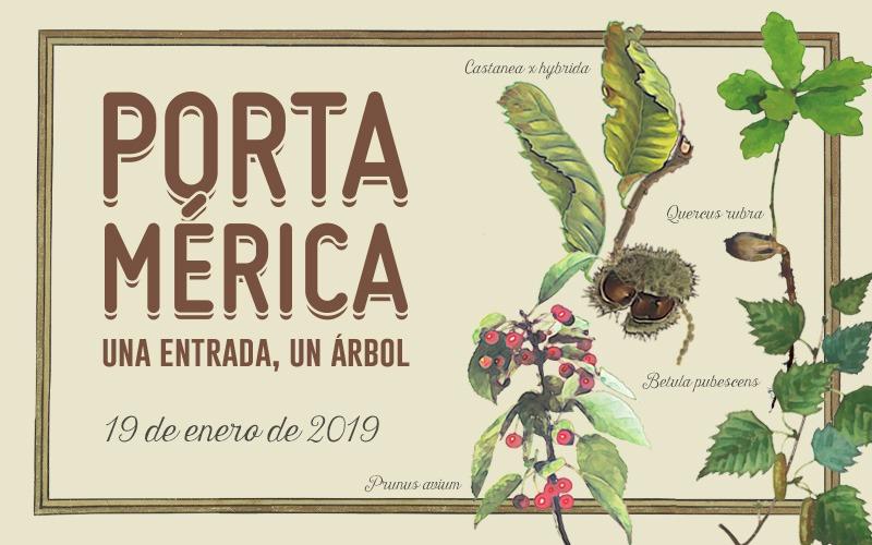 Castaños, cerezos, abedules y robles, las 4 especies de la reforestación PortAmérica