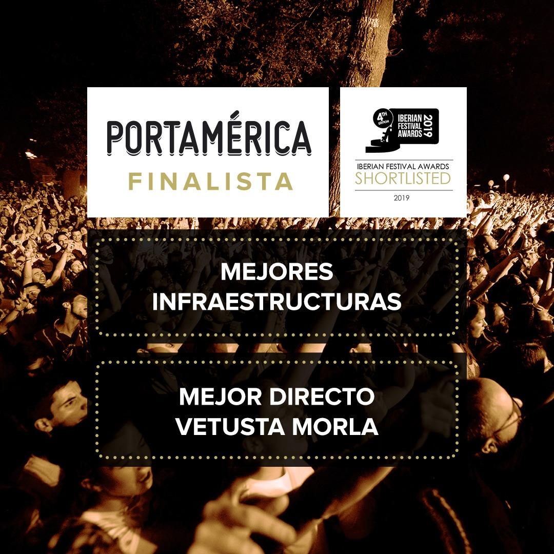 PortAmérica finalista en dos categorías de los Iberian Festival Awards.