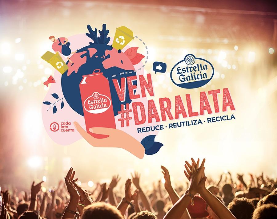 Llega a PortAmérica la iniciativa #DarALata en colaboración con Estrella Galicia y Cada Lata Cuenta