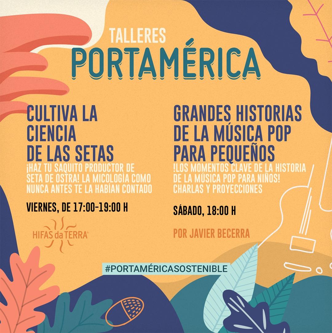 PortAmérica presenta sus talleres para los peques de la Carballeira